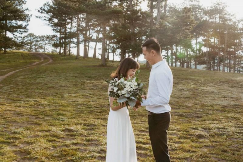 Chia sẻ những kinh nghiệm chụp hình cưới Đà Lạt hữu ích