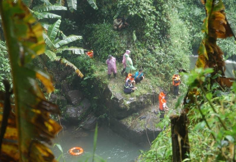 Một du khách mất tích tại thác Đam B'ri Bảo Lộc