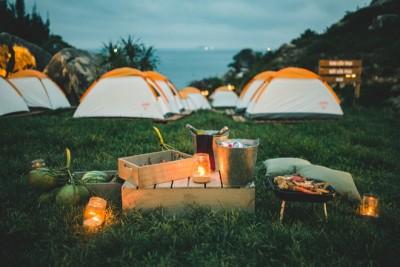 Khu cắm trại ngoài trời độc chiếm qủa đồi hot nhất Bình Định