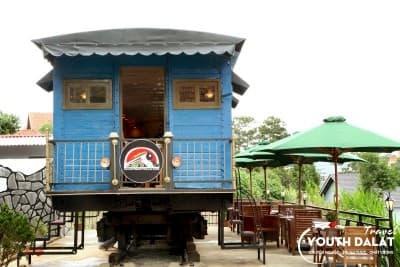 Dalat Train Villa & Cafe - Cafe trên xe lửa