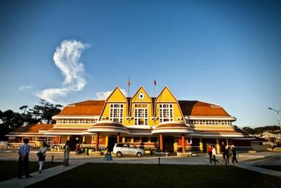 Check in Ga Đà Lạt – Ga xe lửa cổ nhất Đông Dương