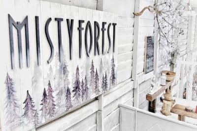 Lạc vào Misty Forest Coffee - Ngôi Nhà Tuyết Trắng Đà Lạt