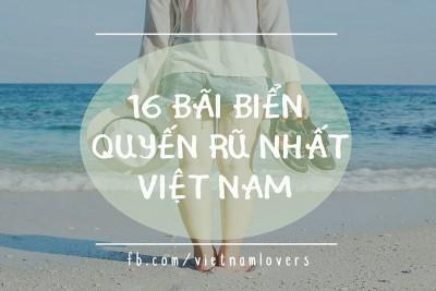 16 bãi biển quyến rũ nhất Việt Nam là đây!