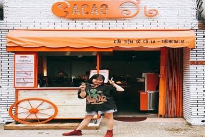 Cacao Ơi - tiệm kem Chocolate thiệt xịn giữa Đà Lạt