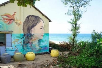 Bất ngờ xuất hiện làng chài cổ tích ven biển tại Việt Nam
