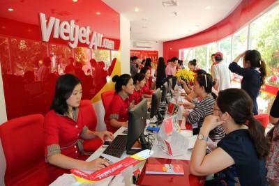 Vietjet mở bán 500,000 vé giá chỉ từ 5,000 đồng!