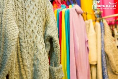 Tổng hợp những địa điểm mua đồ len, áo len Đà Lạt
