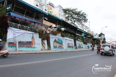 Con đường nghệ thuật giữa lòng thành phố Đà Lạt