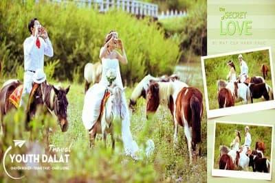 Những địa điểm đáng chụp ảnh cưới nhất Đà Lạt