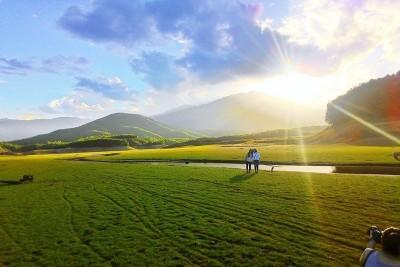 Có một thảo nguyên đẹp tựa 'thiên đường' ở Việt Nam