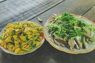 Về miền Tây mùa nước nổi... ăn món ăn quê!