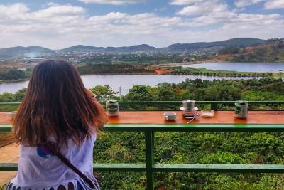 Mê Linh Coffee Garden - Giản dị mà đẹp ngất ngây