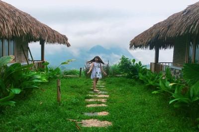 Qua đêm ở 'ngôi nhà trên mây' ngay tại Việt Nam