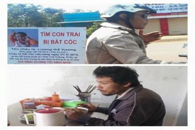 Xót xa cảnh người cha ròng rã tìm con thất lạc ở Lâm Đồng