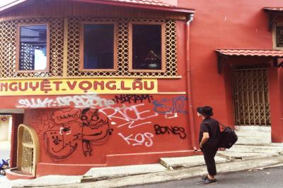 Góc sống ảo tựa phố người Hoa ngay góc trung tâm Đà Lạt