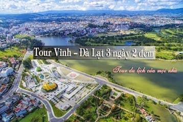 Tour Vinh - Đà Lạt 3 ngày 2 đêm