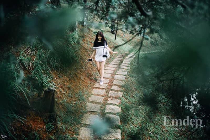 Theo chân 'hot girl trà sữa' check-in điểm cực đẹp ở Đà Lạt