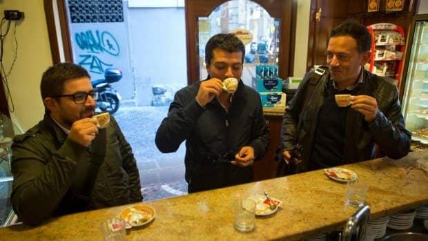 Cà phê Espresso, Ý