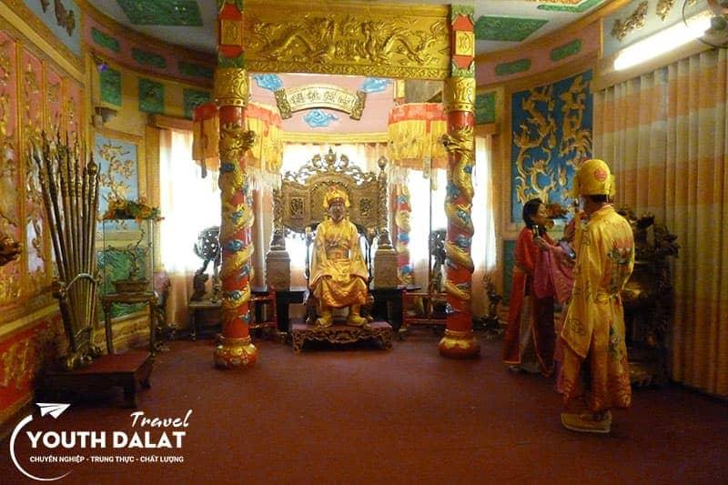The Third Palace of the emperor Bao Dai.