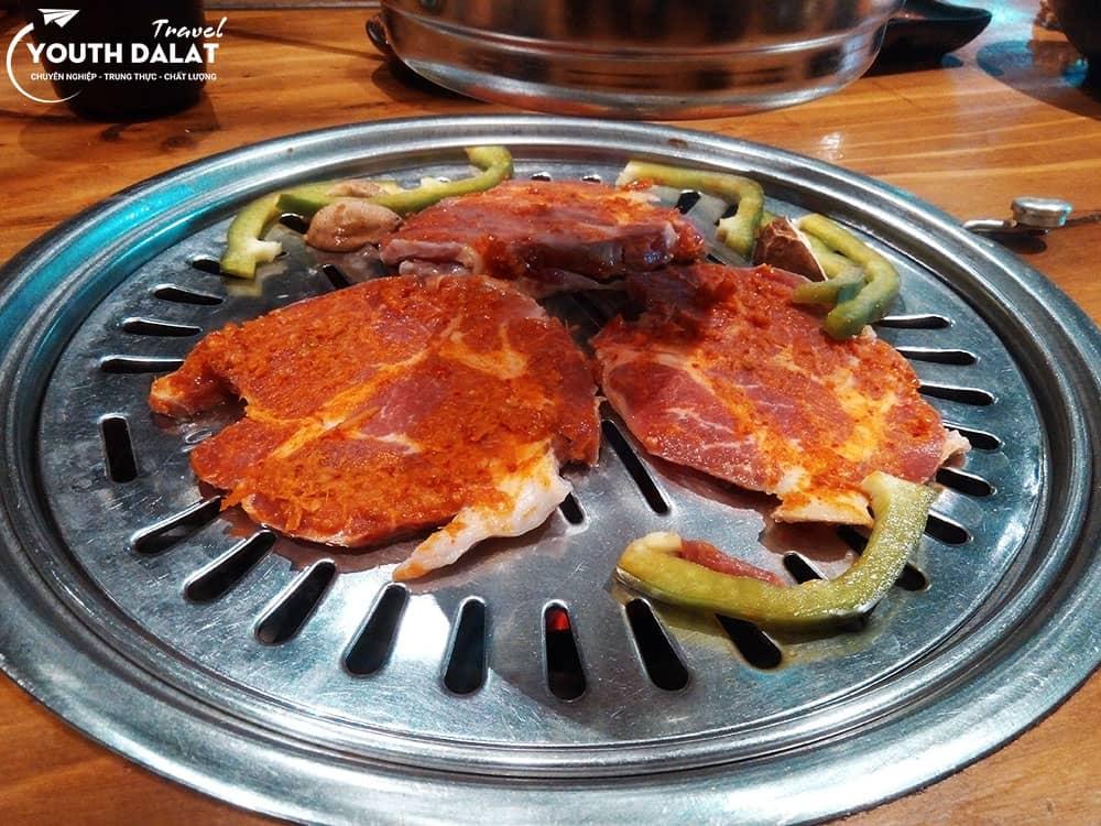 Fungi Chingu - Korean grill in Dalat